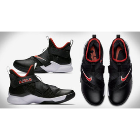 c9042325b43 Tenis Nike Lebron Soldier Xii   7 Y 8.5 Mx Original No Kyr