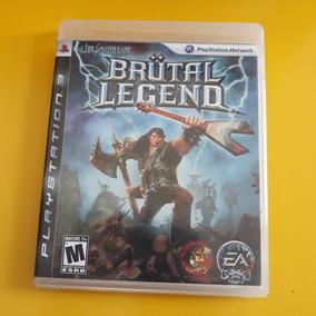 Jogo Ps3 Brutal Legend Mídia Física, Manual, Perfeito Estado