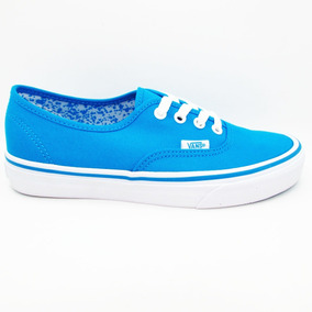 Tenis Vans Authentic Vn0a38emmls Neon Splatter Neon Blue