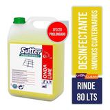 Desinfectante Amonios Cuaternario Perfumado Sutter Onda Lime