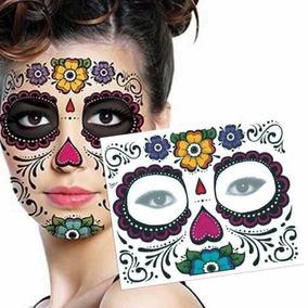 Calcomanias De Catrinas Para La Cara En Mercado Libre México