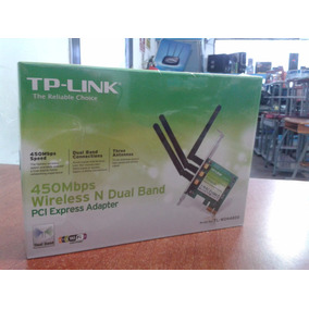 Tarjeta De Red Tp-link Wdn4800 3 Antenas Inalámbrica