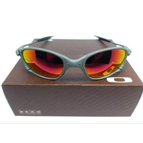 Oculos Oakley Juliete Lente Vermelho De Sol - Óculos De Sol no ... 54c3cb64c3f