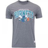 Camiseta Mitchell & Ness Nba Charlotte Hornets Team Arch