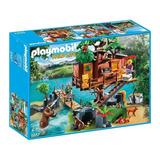 Playmobil 5557 Casa Casita Del Arbol Aventuras Mundo Manias