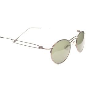 Óculos Semi Redondo Vintage Classico Moda 2018 Anos 80 D56 991818a18b