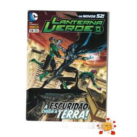 Os Novos 52 - Lanterna Verde #12 A Escuridão Chega A Terra