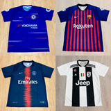 c39d6c4ab8 Kit 7 Camisas Futebol 100 Modelos Diferentes 2018 Atacado