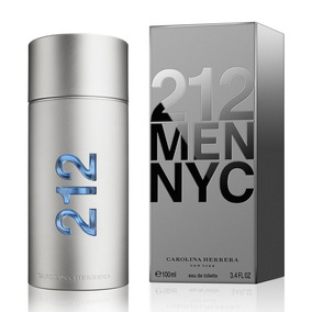 Perfume Carolina Herrera 212 Men Edt 100ml Original