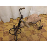 Triciclo Madera Antiguo