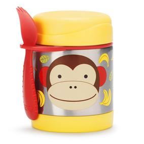 Pote Térmico Skip Hop - Linha Zoo - Coleção Macaco