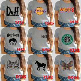 Baby Look Camiseta Tshirt Roupa Feminina P,m,g,gg Barato!!!
