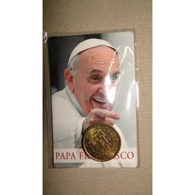 Moeda Belíssima Comemorativa Do Papa Francisco