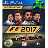 F1 17 2017 Formula 1 - Ps4 Original 1 - Português Br