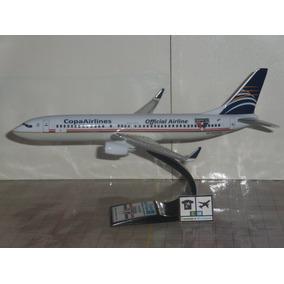 Avião Boeing 737 Copa São Paulo Fc 1:141 Miniatura Maquete
