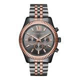 Reloj Análogo Marca Michael Kors Modelo: Mk8561 Color Gris P