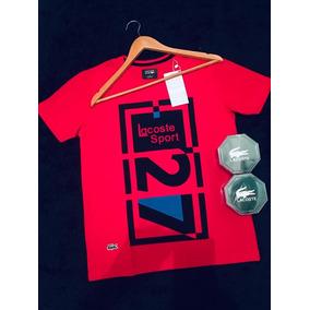 Lacoste T Shirt Importada Mais Um Cinto Lacoste Kit aef67557ae0ab
