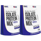Combo 2x Whey Isolate Protein Mix Profit 1,8kg - Total 3,6kg