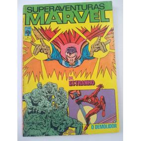 Superaventuras Marvel Nº 6 - 1982 - Ed. Abril - Rara !