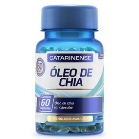 Óleo De Chia - 60 Cápsulas - Catarinense