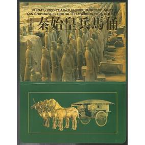 China Cartela Com 12 Cartões Postais Guerreiros De Terracota