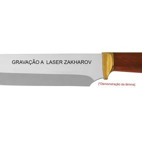 Gravação A Laser Para Facas