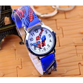 5bfbcc4eec2 Sucrilhos Homem Aranha - Relógios De Pulso no Mercado Livre Brasil