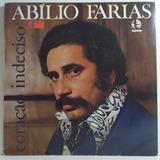 Abílio Farias 1977 Coração Indeciso Lp Cigana / O Carteiro