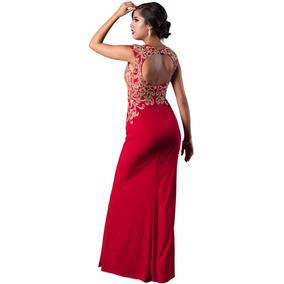 2ab0a9f13 Vestidos Largos Color Rojo De Noche Mujer Chihuahua - Vestidos de ...
