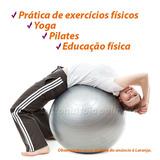 Bola Ginástica Exercícios Físicos Pilates Bola Yoga 55cm Top d86096e3530c