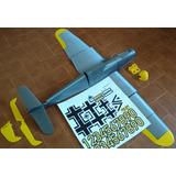 Avion Electrico Rc Messerschmitt Bf 109h Impreso En 3d Kit