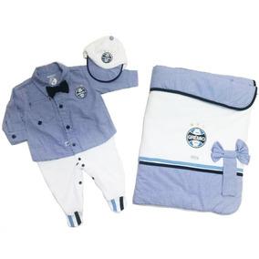 Saida Maternidade Masculino Sonho Magico - Macacão Azul de Bebê no ... 64c7f839311