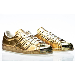 adidas Superstar 80s Metal Golden Point Tenis