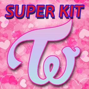 Kpop Kit Twice - 10 Photocards + 1 Poster + 10 Adesivos