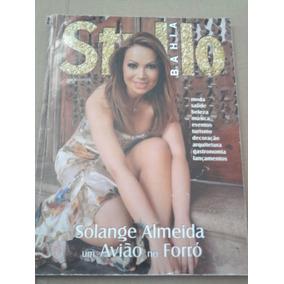 Revista Stylo E Noivas Bahia Solange Almeida Do Aviões Forró