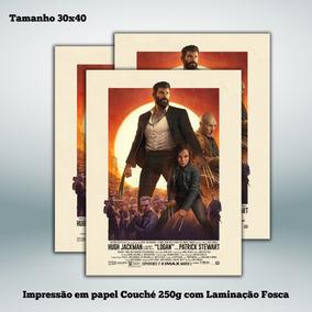 Poster Logan - Wolverine - Filme - 30x40 Cm