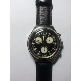 deb7aac570f Relogio Swatch Swiss Irony Stainless - Relógios no Mercado Livre Brasil