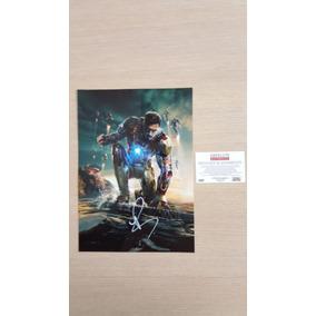Homem De Ferro 3 Poster Autografado Por Robert Downey Jr.