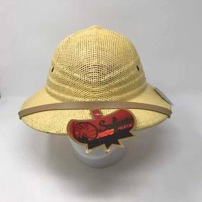 Sombrero Cazador Safari Tipo Salacot Ajustable Rocha Tan fa342e6672a