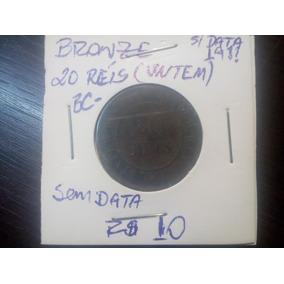 Moeda 20 Réis Bronze Bc Data 19?? República A Classificar