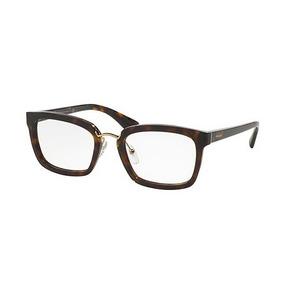 4cbfe537bfbd0 Óculos Prada Pr06qv 2au1o1 Havana 4921 - Óculos no Mercado Livre Brasil