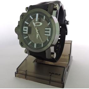 Relógio Masculino Oakley Gearbox Pulseira Antifurto + Caixa