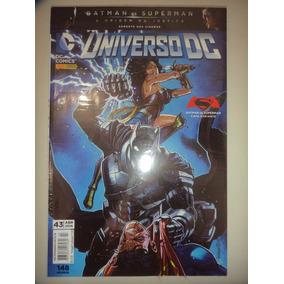 Os Novos 52 Universo Dc 43 Capa Variante Panini 2016 Lacrado