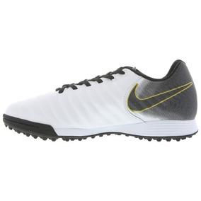 Chuteira Society Nike Tiempo Branca - Chuteiras Nike de Society no ... 620adc4ec0292
