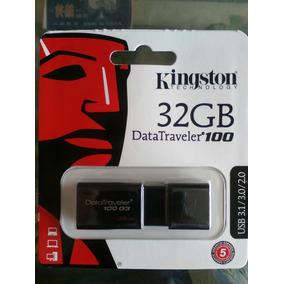 Pendrive De 32gb Kingston Datatraveler 100 G3