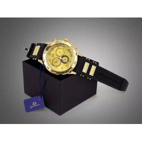 Relógio Masculino Original Borracha + Caixa - Moda 2019