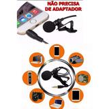 Microfone De Lapela Celular Smartphone Android iPhone P3 4
