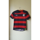 Camisa Oficial Flamengo Infantil Tamanho 8 Olympikus