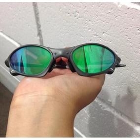 53c563eba1e8d Oculos Oakley Penny Metal Verde Polarizada + Cartão Teste!