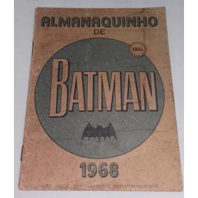 Almanaquinho De Batman - Ebal (1968)
